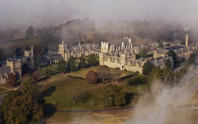 Berry College Ford Complex aerial photograph