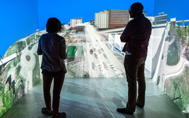 Using Virtual Reality for city planning at West Virginia University